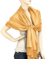"Falari Women's Solid Color Pashmina Shawl Wrap Scarf 80"" X 27"""