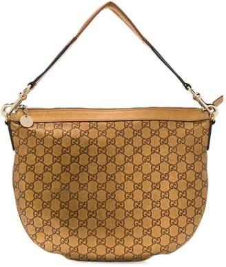 Gucci Pre-Owned monogram metallic shoulder bag