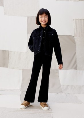 MANGO Flared jeans white - 5 - Kids