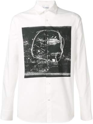 Alexander McQueen abstract print shirt
