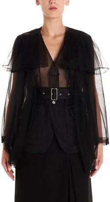 Noir Kei Ninomiya Tulle Layer Sheer Jacket
