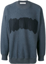 Golden Goose Deluxe Brand felted sweatshirt - men - Cotton - XS