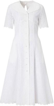 Doyi Park Sweetheart Lace Cotton Dress