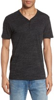 Lucky Brand Men's Y-Neck Henley T-Shirt