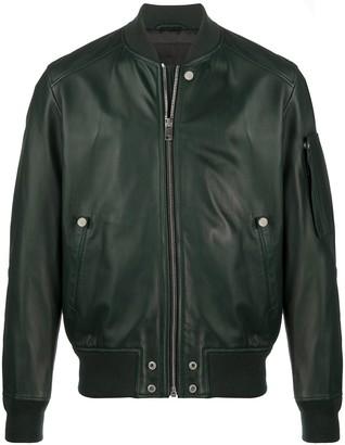 Diesel L-Joseph zipped bomber jacket