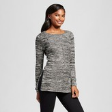 Women's Marled Tunic with Side Slits - Heather B