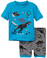 Petit Lem Dino Boy 2-Piece PJ Set (Toddler & Little Boys)