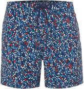 Linea Men's Abstract Geo Print Swim Short
