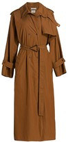 Bottega Veneta Compact Cotton Belted Trench