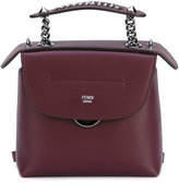 Fendi Mini Back to School backpack - women - Leather/metal - One Size