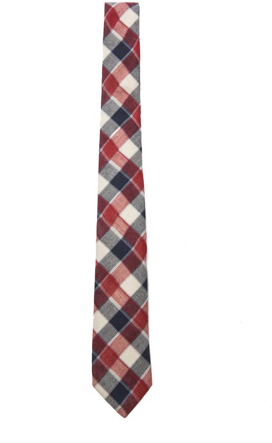 Rag and Bone Rag & Bone Farm Plaid Tie in Red