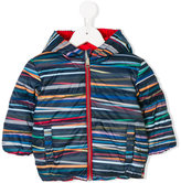 Paul Smith Stripe Stick reversible padded jacket