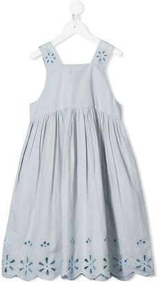 Stella McCartney Kids Anglaise Embroidery Dress