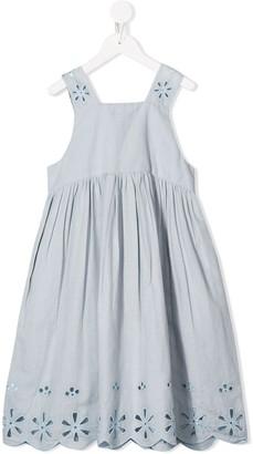Stella McCartney anglaise embroidery dress