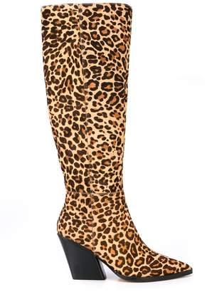 Dolce Vita Isobel leopard-print boots