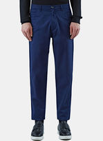 Raf Simons Men's Casual Slim Leg Pants In Blue