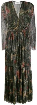 BA&SH Hendrix pleated maxi dress