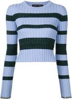Proenza Schouler striped sweater - women - Silk/Viscose/Cashmere/Wool - L