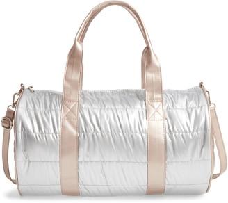 Bari Lynn Puffy Duffle Bag