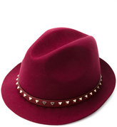 Valentino Garavani Valentino Rockstud hat - women - Polyester/Angora - M
