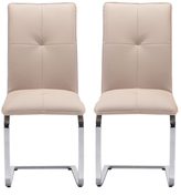 ZUO Anjou Dining Chairs (Set of 2)