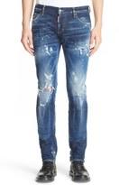 DSQUARED2 Destroyed Slim Fit Jeans