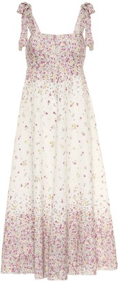 Zimmermann Carnaby floral linen midi dress