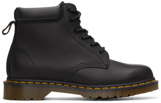 Dr. Martens Black Greasy 939 Ben Lace-Up Boots