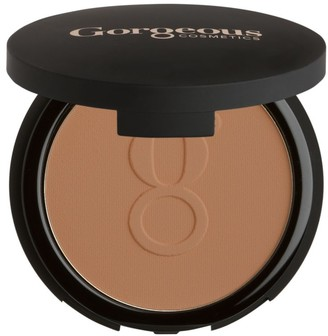 Gorgeous Cosmetics Powder Perfect Pressed Powder Foundation Compact with Mirror Highly Pigmented and Buildable for Medium Coverage