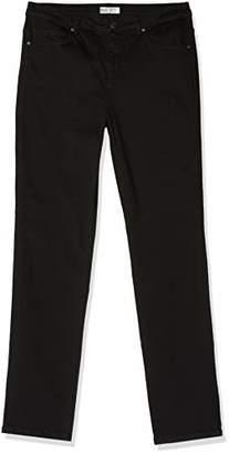 H.I.S Women's Marylin Slim Jeans, (Pure Black Wash 9941), 29W x 34L
