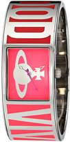 Vivienne Westwood Bond Women's Quartz Watch with Dial Analogue Display and Multicolour Stainless Steel Bangle VV084PK