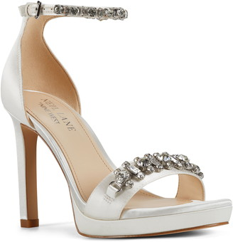 Nine West Engaged Embellished Sandal
