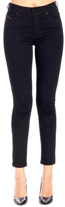 Diesel Jeans Super Skinny D-roisin Jeans With A Regular Stretch Waist