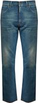 Gucci Tiger-appliqué slim-fit cropped jeans