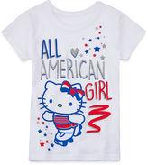 Hello Kitty Americana Short-Sleeve Tee - Preschool Girls 4-6x
