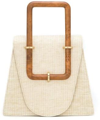 Cult Gaia Bibi structured top-handle bag