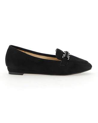Jd Williams Low Wedge Loafers EEE Fit