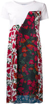 Dondup floral print dress - women - Cotton/Viscose - 40