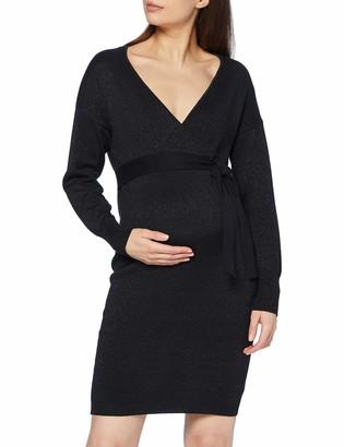 Mama Licious Mamalicious Women's MLELVA TESS L/S Knit ABK Dress 2F