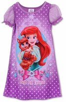 Disney Little Girls Aurora Palace Pets Gown Long Sleeve K157451PN