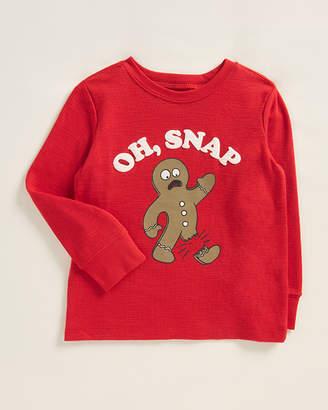 Osh Kosh Toddler Boys) Gingerbread Man Long Sleeve Top