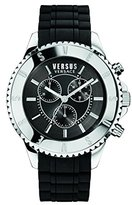 Versus By Versace Men's SGN070015 TOKYO CHRONO Analog Display Quartz Black Watch