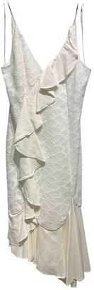 C/Meo White Polyester Dresses