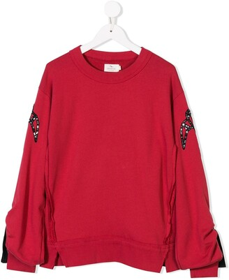 Andorine Embroidered Sweatshirt