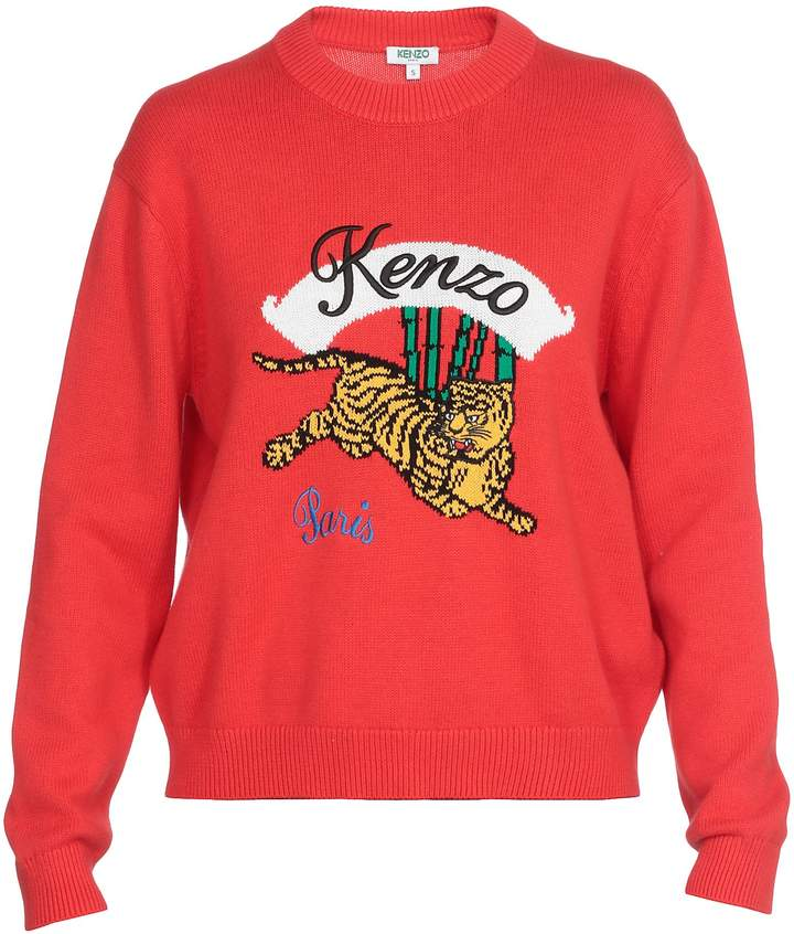 a4753301577 Women Kenzo Tiger Sweater - ShopStyle