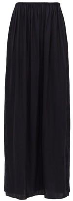Carl Kapp - Silhouette Voile Maxi Skirt - Navy