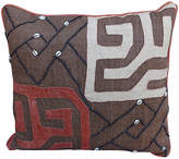 One Kings Lane Vintage Custom African Kuba Cloth Pillow