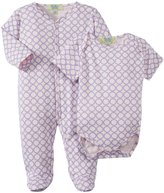 Kissy Kissy Qt Circles Footie & Bodysuit (Baby) - Pink Lilac-6-9 Months