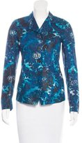 Dries Van Noten Printed Lightweight Blazer