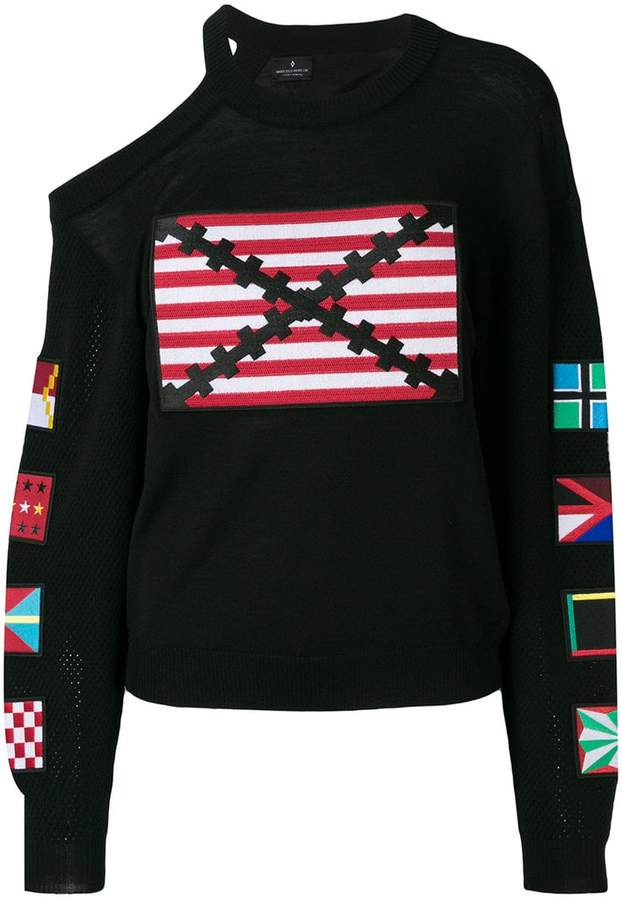 Marcelo Burlon County of Milan Flags sweater